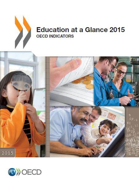 Education at a Glance 2015 - mynd