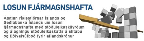 Áætlun ríkisstjórnar Íslands og Seðlabanka Íslands um losun fjármagnshafta
