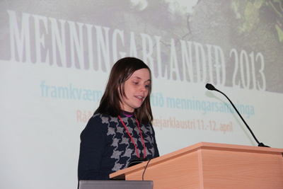 Mikil ánægja með ráðstefnuna Menningarlandið, sem fór fram á Kirkjubæjarklaustri.
